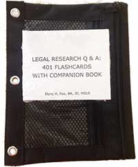 Legal Research Questions & Answer Flashcards